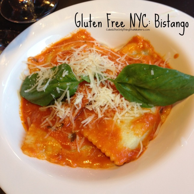Great gluten free Italian food at Bistango! Check out the review at CakeIsTheOnlyThingThatMatters.com