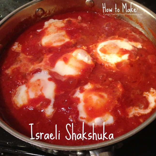 Incredibly easy shakshuka recipe from CakeIsTheOnlyThingThatMatters.com