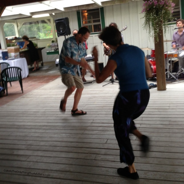 Dancing at CakeIsTheOnlyThingThatMatters.com