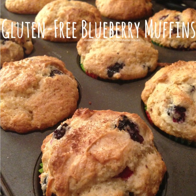 You'd never, ever know these blueberry muffins are gluten free!