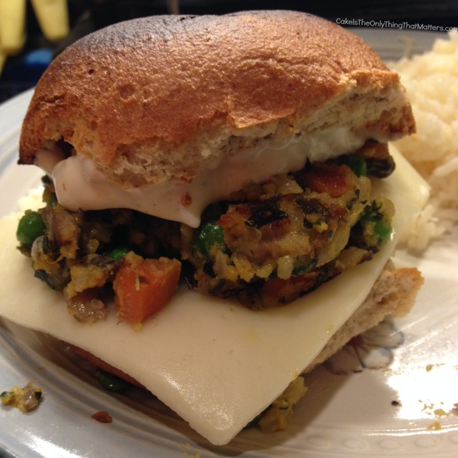 Veggie burgers that actually taste like vegetables! (AND they're gluten free too!)