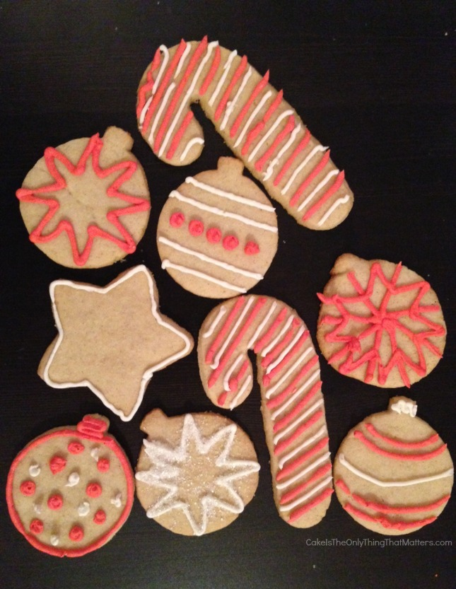 GORGEOUS gluten-free sugar cookies for Christmas